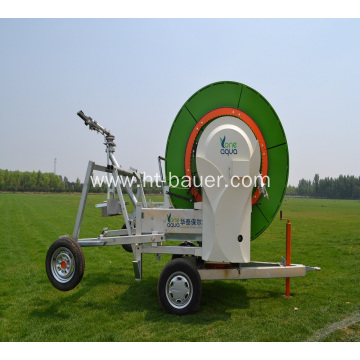 Moving Hose Reel Irrigation